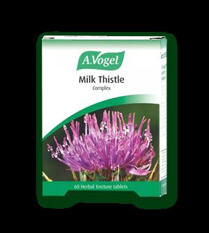 A.Vogel Milk Thistle Complex Tablets - Ταμπλέτες με Βότανα και Γαιδουράγκαθο 60tabs