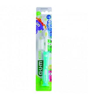 GUM 901Μ Kids Monster 3-6 Οδοντόβουρτσα