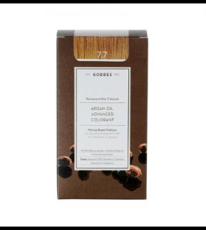 Korres Argan Oil Advanced Colorant N7.7 Μοκα Promo 50ml