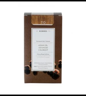 Korres Argan Oil Advanced Colorant N7.0 Ξανθο Φυσικο Promo 50ml