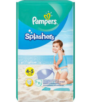 Pampers Splashers No 4-5 (9-15kg) 11τμχ
