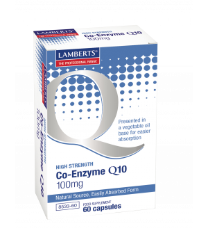Lamberts Coenzyme Q10 Hight Strenght 100Mg 60Caps