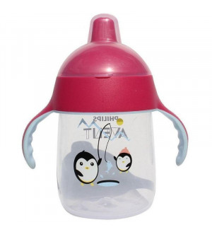 Philips Avent Cup With A Spout Pink 18M+ 340ml