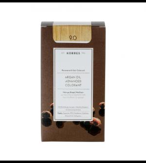 Korres Argan Oil Advanced Colorant N9.0 Καταξανθο Φυσικο 50ml
