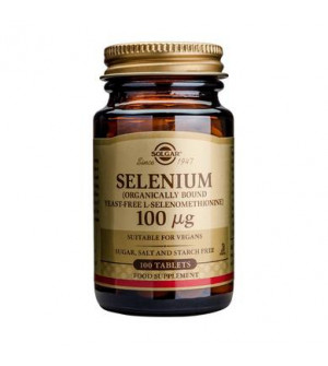 Solgar Selenium 100Mg 100Tabs