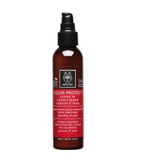 Apivita Color Protect Leave In Conditioner Προστασίας Χρώματος με Ηλίανθο & Μέλι 150ml