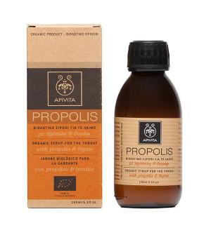 Apivita Propolis Φυσικό Σιρόπι για Το Λαιμό με Πρόπολη & Θυμάρι 150ml