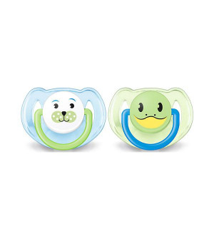Philips Avent Orthodontic Soother 6-18M 2pcs