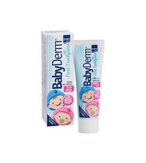 Intermed BabyDerm Βρεφική Οδοντόκρεμα Με Άρωμα Τσιχλόφουσκας 50ml