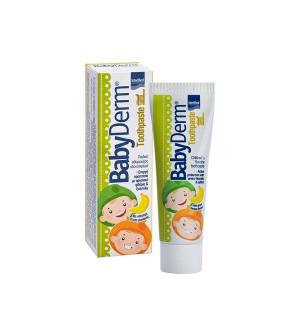 Intermed BabyDerm Παιδική Οδοντόκρεμα Με Άρωμα Μπανάνας 50ml