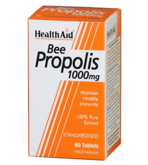Health Aid Bee Propolis 1000Mg 60Tabs
