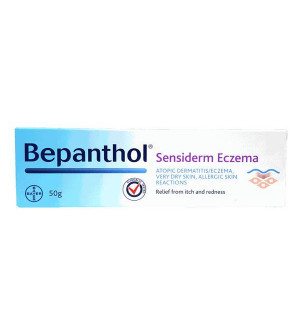 Bepanthol Sensiderm Eczema Για Την Ατοπική Δερματίτιδα 50g