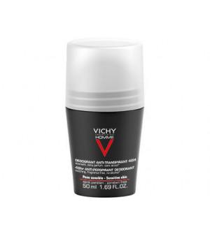 Vichy Homme 48H Deodorant Peaux Sensibles Bille 50ml
