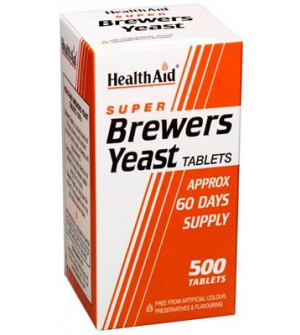 Health Aid Super Brewers Yeast 500 500Tabs