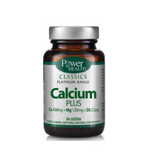 Power Health Classics Platinum Range Calcium Plus Mg+D3 30Tabs