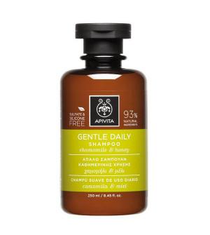 Apivita Gentle Daily Σαμπουάν Καθημερινής Χρήσης Με Χαμομήλι & Μέλι 250ml