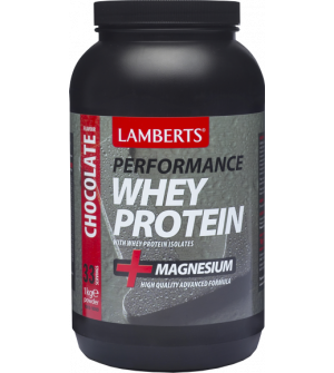 Lamberts Performance Whey Protein + Magnesium Chocolate 1000Gr