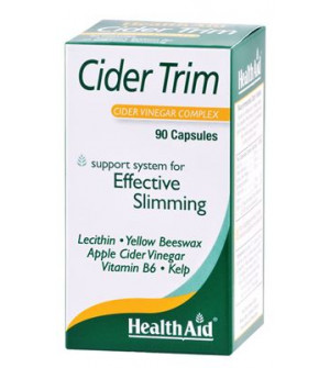 Health Aid Cider Trim (Μηλοξυδο) 90Caps