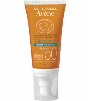 Avene Eau Thermale Cleanance Solaire Face Cream 50+ SPF 50 ml
