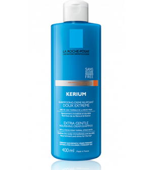 La Roche Posay Kerium Extra Gentle Απαλό Σαμπουάν Συχνής Χρήσης Για Ξηρά Μαλλιά 400ml