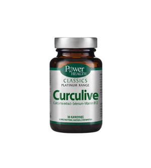 Power Health Classics Platinum Range Curculive 30Caps
