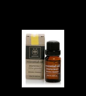 Apivita Essential Oil Αιθέριο Έλαιο Γκρέιπφρουτ 10ml