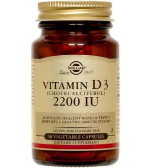 Solgar Vitamin D3 2200Iu 50Caps