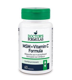 Doctor's Formulas MSM+Vitamin C 60Caps