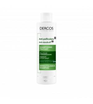 Vichy Dercos Αντιπιτυριδικό Σαμπουάν για Κανονικά Έως Λιπαρά Μαλλιά 200ml