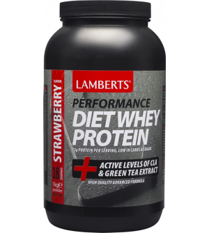 Lamberts Diet Whey Protein Strawberry 1000Gr