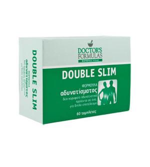 Doctor's Formulas Double Slim Φόρμουλα Αδυνατίσματος 60Tabs