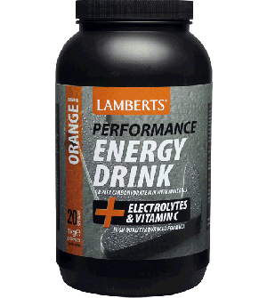 Lamberts Performance Energy Drink Orange 1000Gr