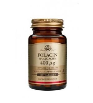 Solgar Folacin (Folic Acid) 400mg 100tabs