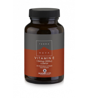 Terranova Vitamin E Complex 200Iu 50Caps