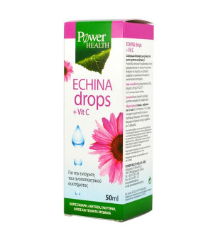 Power Health Echina Drops + Vit. C 50ml