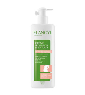 Elancyl Creme Prevention Vergetures Πρόληψη Ραγάδων 500ml