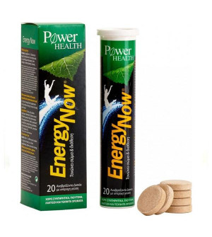 Power Health Energy Now 20 Effervesive Tabs