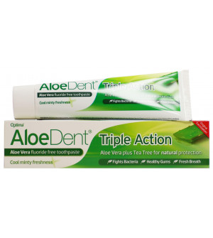 Optima Aloe Dent Toothpaste Triple Action 100ml
