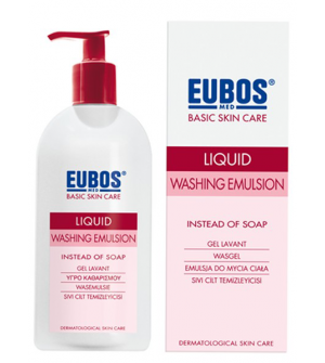 Eubos Liquid Washing Emulsion Red 400ml