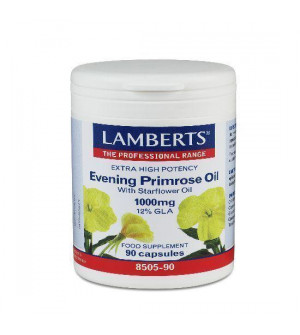 Lamberts Evening Primrose Oil with Starflower 1000Mg 90Caps