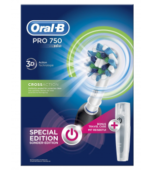 Oral-B Pro 750 3D CrossAction Special Edition Black