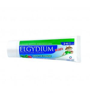 Elgydium Παιδική Οδοντόκρεμα Μέντα-Φράουλα 2-6 Ετών 50ml