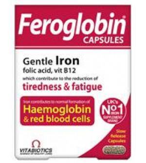 Vitabiotics Feroglobin 30 Capsules