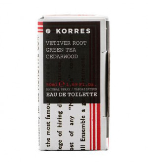 Korres Men Αρωμα Ανδρικο Vetiver Root-Green Tea-Cedarwood 50ml