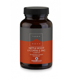 Terranova Prostate Support Nettle Root / Lycopene / Zinc Complex 50Caps
