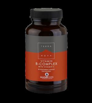 Terranova Vitamin B Complex with Vitamin C 50Caps