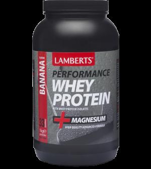 Lamberts Performance Whey Protein Banana 1000Gr