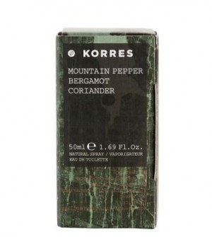 Korres Men Ανδρικο Αρωμα Mountain Pepper/Bergamot/Coriander 50ml