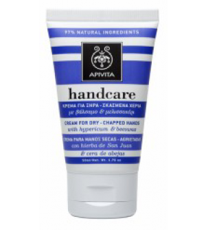 Apivita Hand Care Κρέμα για Ξηρά - Σκασμένα Χέρια με Βάλσαμο & Μελισσοκέρι 50ml