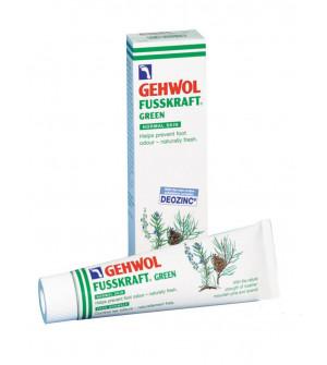Gehwol Fusskraft Green Αποσμητική & Αναζωογονητική Κρέμα Ποδιών 75ml